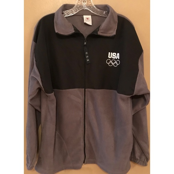 United States Olympic Committee Jackets & Blazers - United States Olympic Committee Fleece Jacket
